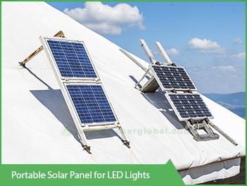 Portable-LED-solar-panel-for-led