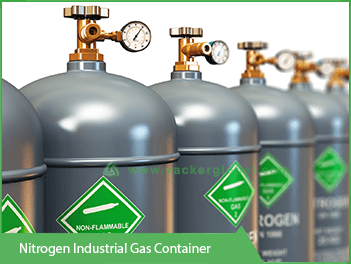 nitrogen-indutrial-gas-container